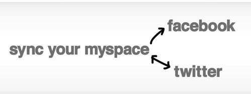 noticias redes sociales MySpace sincroniza con Facebook